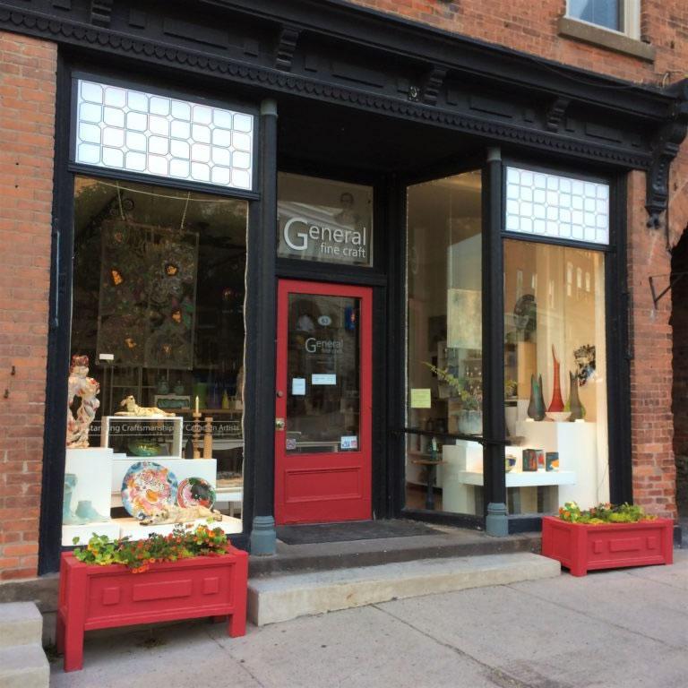 Exterior of General Fine Craft in Almonte, Ontario