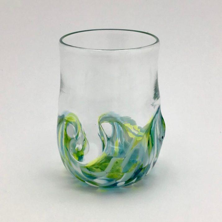 Sea foam Twisty Cup. $32