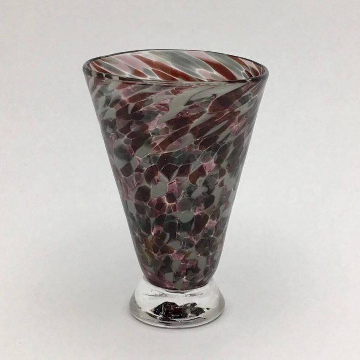 Aubergine Speckle Cup. $36