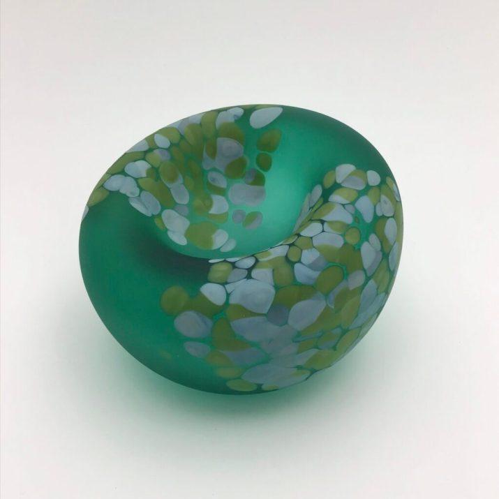 Emerald & Pistachio Jelly Bowl, sm. $160. code 15-278