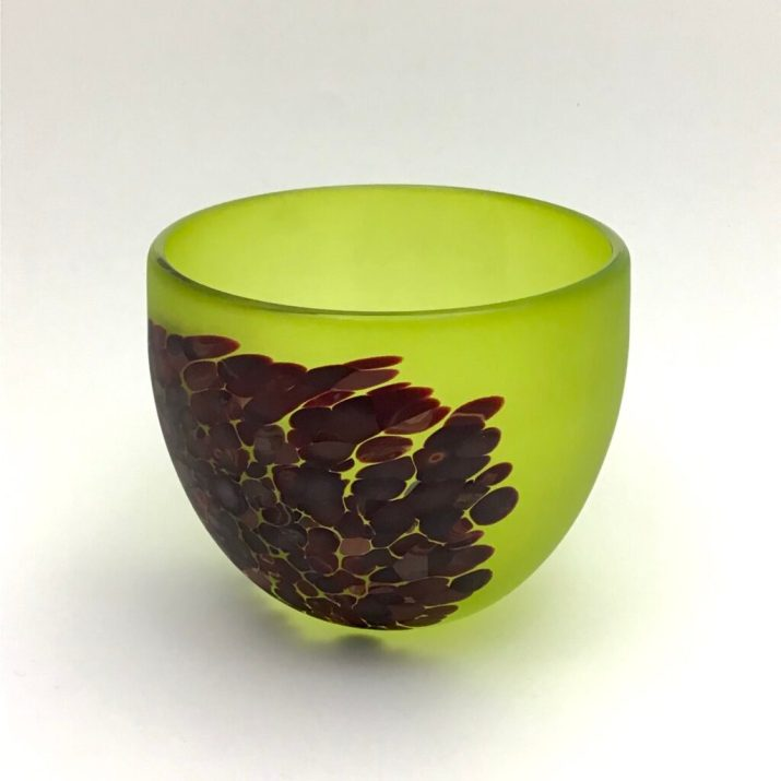 Lime Flava Bowl, sm. $160. code 15-284