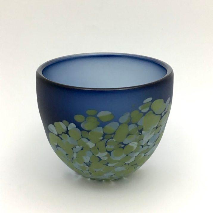Steel Blue Flava Bowl, sm. $160. code 15-285
