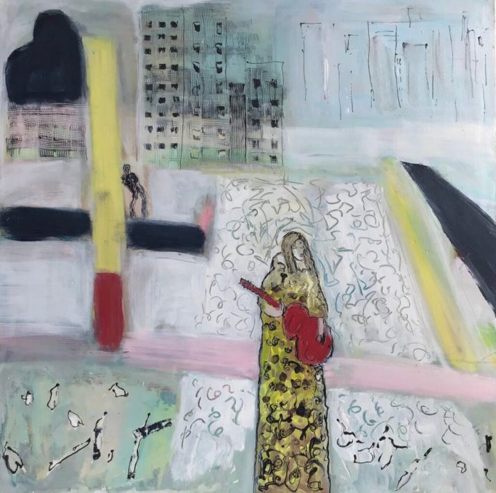 Painting by Janice Moorhead