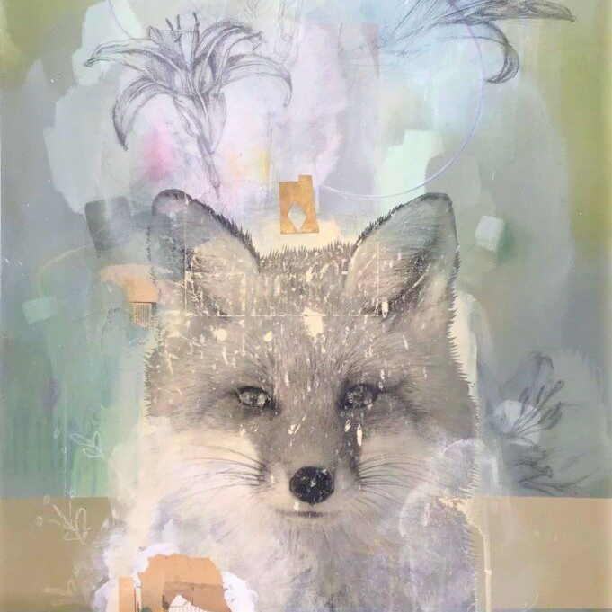Lily Swain's painting